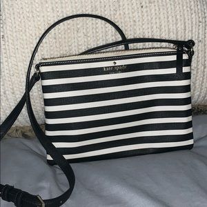 Kate Spade ♠️ Striped Crossbody —
